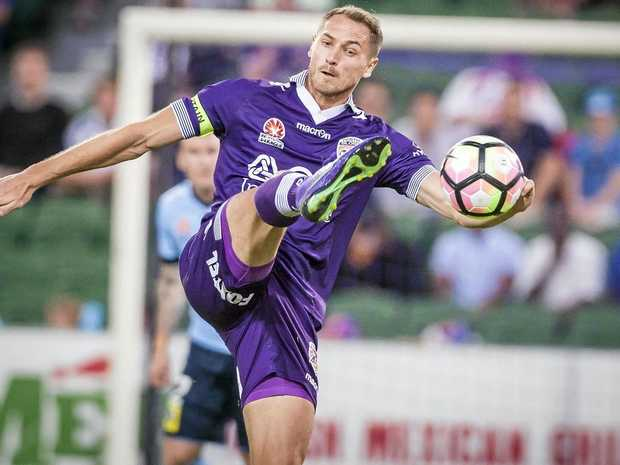 Rostyn Griffiths of the Perth Glory.