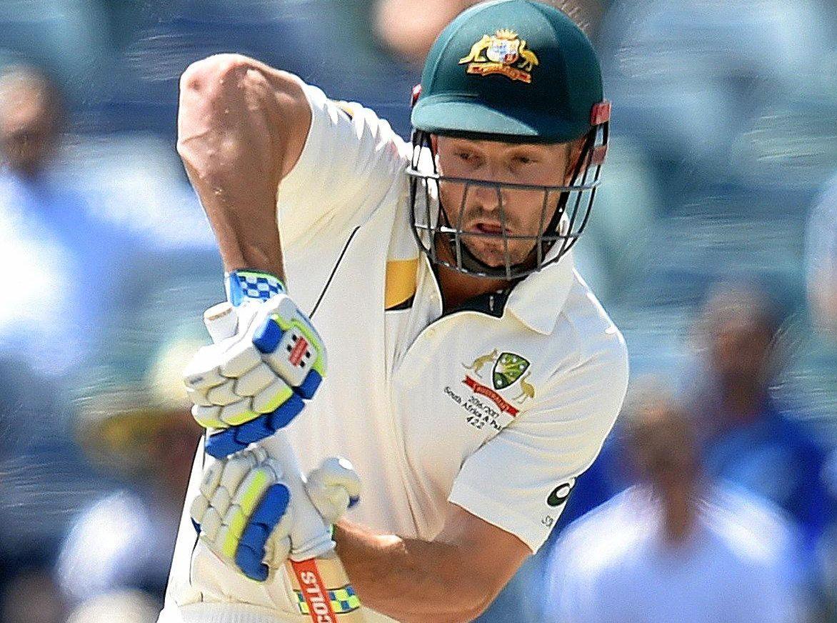Australian batsman Shaun Marsh.