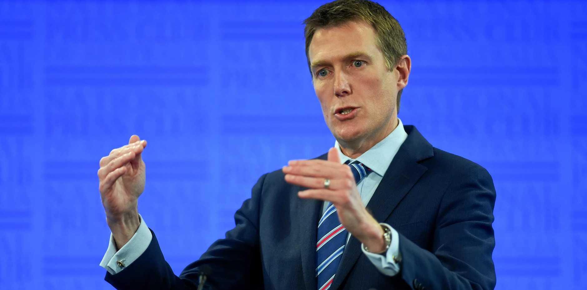 Australian Social Services Minister Christian Porter.