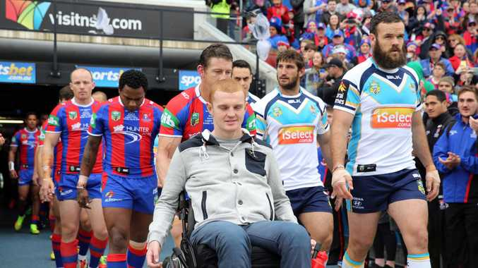 Alex McKinnon is suing the NRL and Jordan McLean.