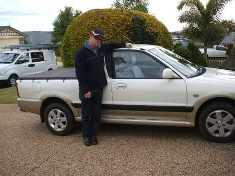Police have released a new image of missing Toowoomba man Paul Anderson, 49. Mr Anderson, pictured here with the his vehicle, has been missing since Thursday and was last seen at Duaringa in Central Queensland on Saturday.