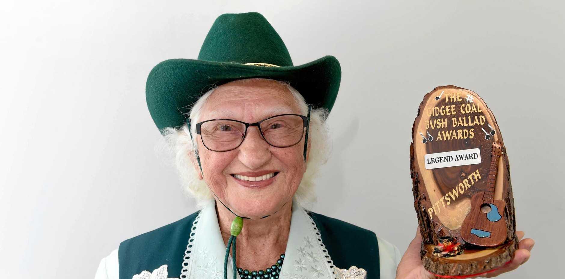 COUNTRY MUSIC LEGEND: Glenwood's Zeta Burns.