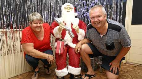 Christmas Lights creators Helen and Geoff Kirby