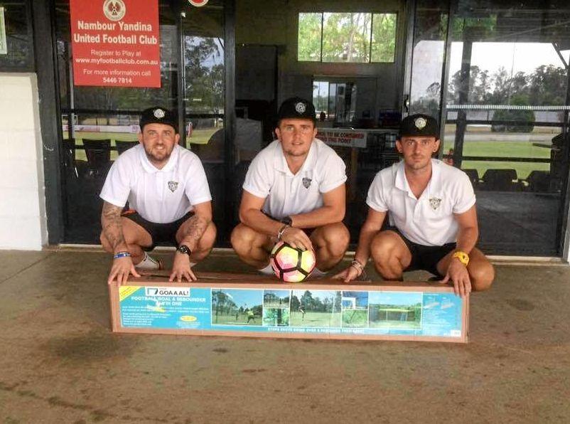 UNITED: Brothers Korey, Kallum and Kyle Nix have joined to form K3 Coaching on the Sunshine Coast.