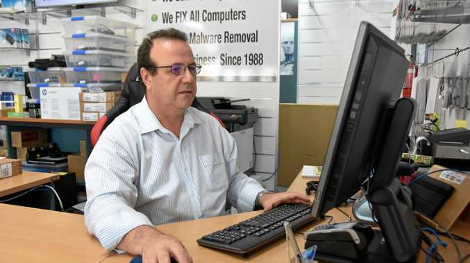 Anthony Viola is a computer  expert who helps keep the region's businesses safe from cyber attacks.