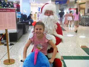 Santa's heart stolen by girl suffering brain tumour
