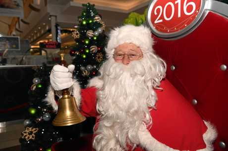 SPECIAL DAY: Santa made a little girls day extra special at Sugarland Shopping Centre Bundaberg.