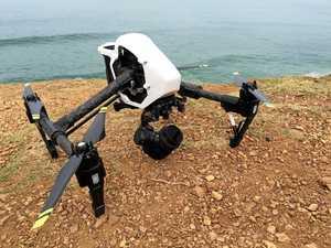41 days of shark-spotting drone trials on North Coast