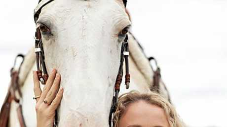 Mandy Magro and her horse Honey