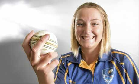 Amy Riddell of Junction Hill - returned from national championships where she bowled record breaking figures and captained ACT/NSW Country to third place.Photo Adam Hourigan / The Daily Examiner