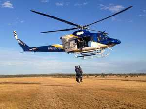 LifeFlight airlifts man from paddock after chest pains