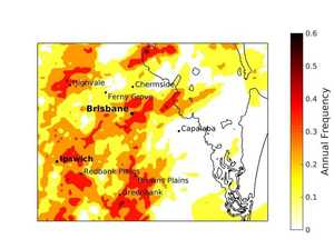 REVEALED: Ipswich 'intense storm hot spot': new study finds