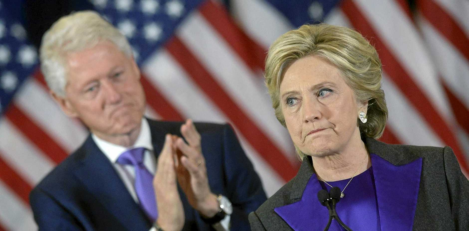 DIDN'T SEE THAT COMING: The world was shocked when Donald Trump beat Hillary Clinton in the race to the White House in this year's US election.
