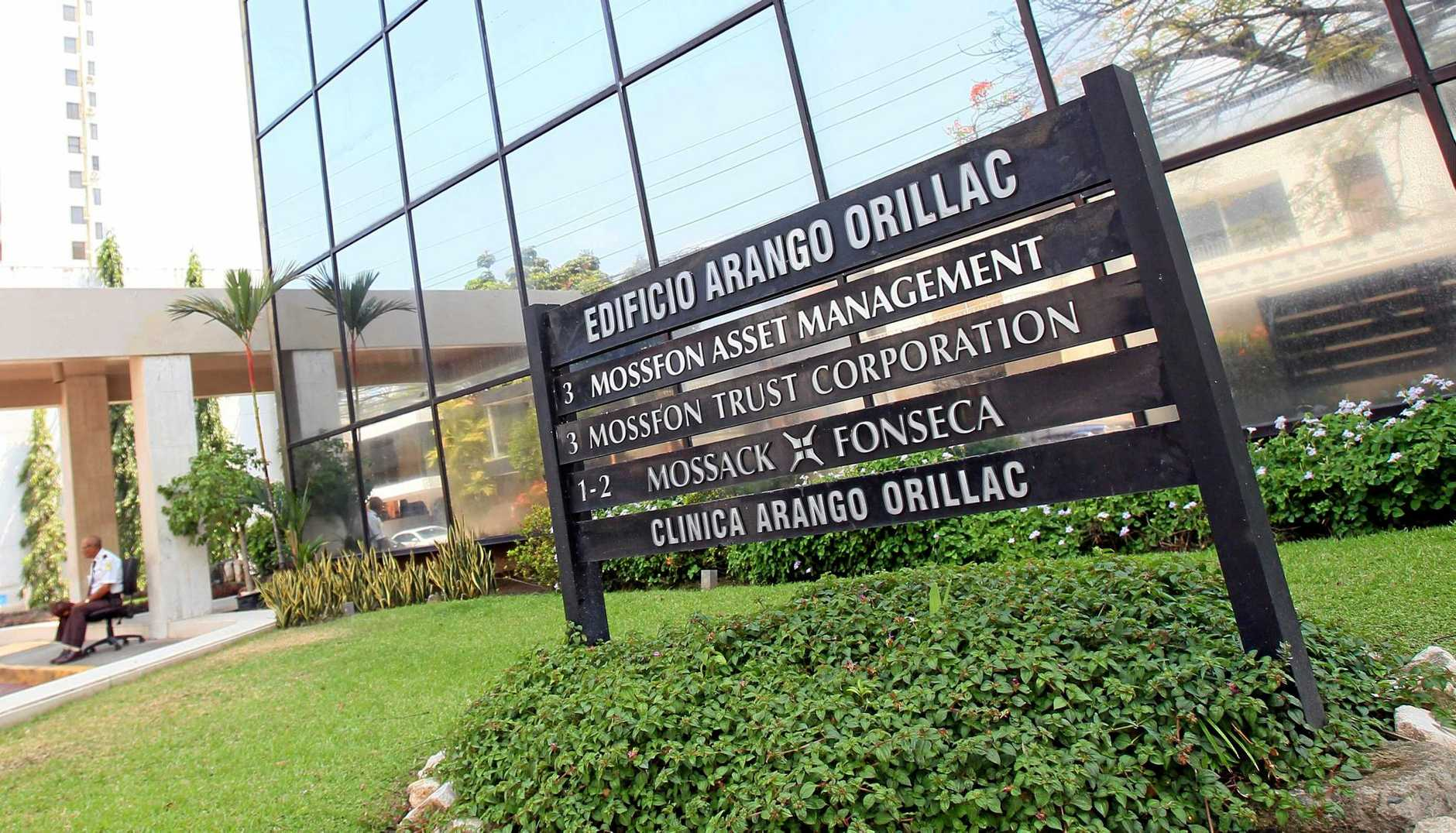 epa05242948 Photo shows the building where the office of Panamanian law firm Mossack Fonseca is located in Panama City, Panama, 03 April 2016. 11 million documents from Mossack Fonseca database were leaked allegedly exposing high profile tax evasion and money laundering among the world's elite.  EPA/Alejandro Bolivar