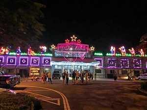Free Coast Christmas festival has lights, aerial dancers
