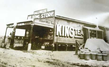 The shop at Milbong that Garth called home until he was 12 years old.