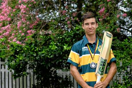 Ipswich cricketer Will Kraschnefski was named player of the tournament in the QCC Bulls Masters Cup in Mackay.