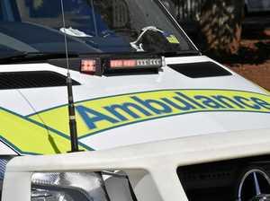 Large kangaroo on road causes two-vehicle crash