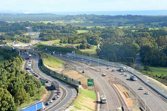 Parts of the Pacific Highway upgrade made it into the NSW list of worst roads.