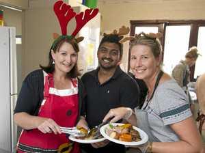 Toowoomba cooks Christmas cheer for homeless