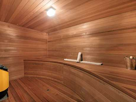 The sauna inside Coast brothel Scarlet Harem, which is up for sale.
