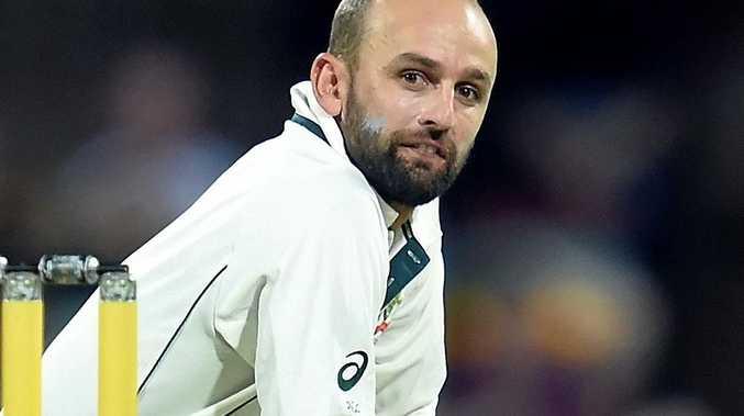 Australian spin bowler Nathan Lyon.