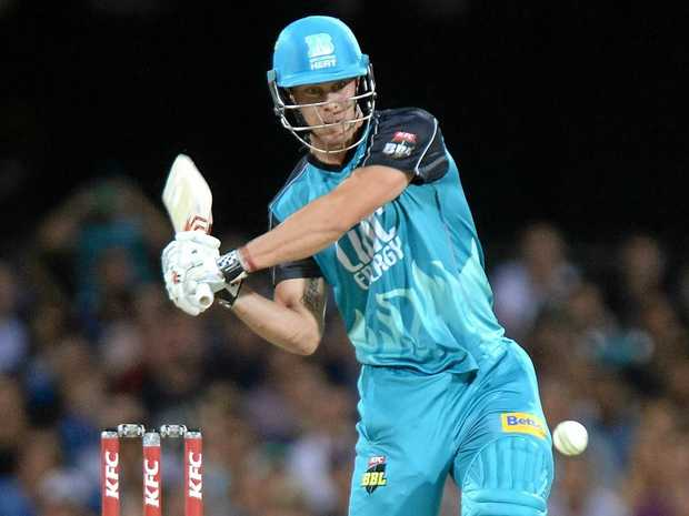 Chris Lynn of the Brisbane Heat.