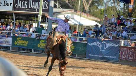 Talented riders are sure to entertain at the Warwick New Year's Eve Rodeo