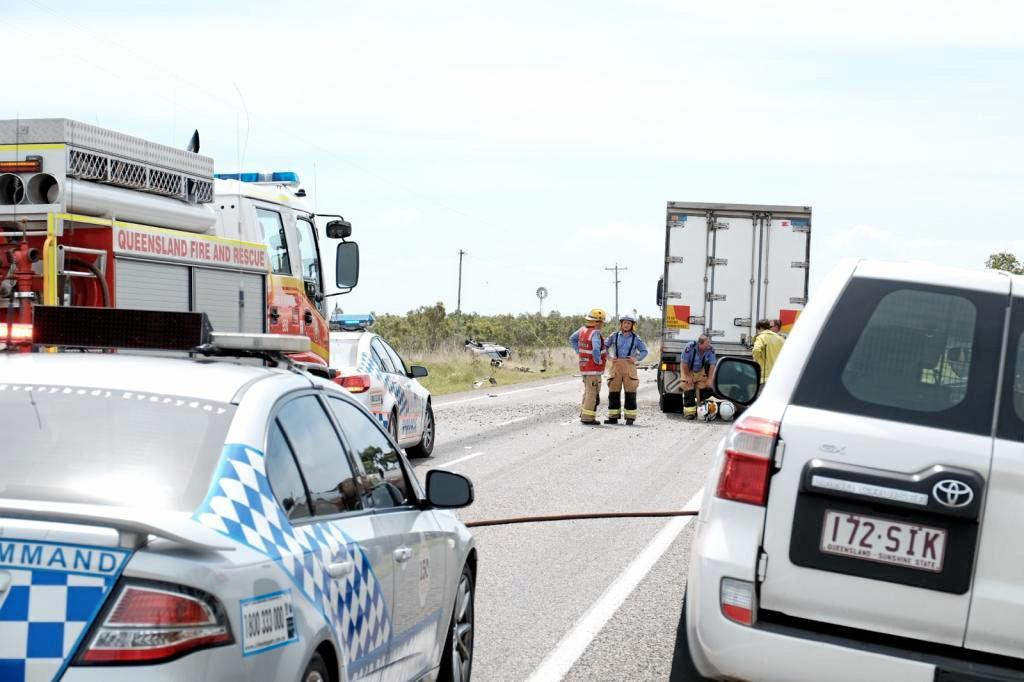 FATALITY: A female was killed during a crash on the Bruce Highway north of Proserpine in February, 2015.