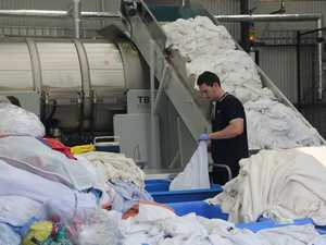 First loads put through Vanguard Laundry Services
