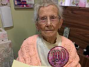 Ivy's revved up to celebrate her centenary on Harley