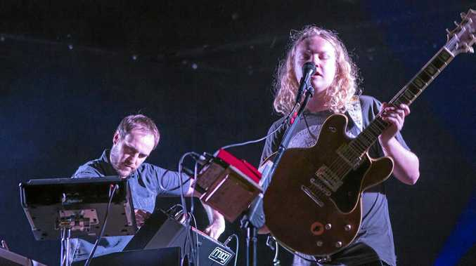 ELECTRONIC: Local duo Nocturnal Tapes features Lachie Mulligan on electronics and Harry Suttor on guitar and vocals. They will perform at the Pacific Hotel in Yamba on Saturday, from 9.30pm.