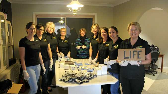 BUSY 2016: The members of Stanthorpe Zonta have been busy  this year.