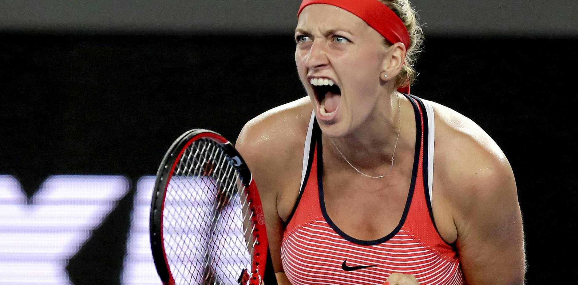 Tennis star Petra Kvitova of the Czech Republic.