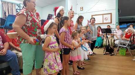 Bentley Hall Christmas carols.