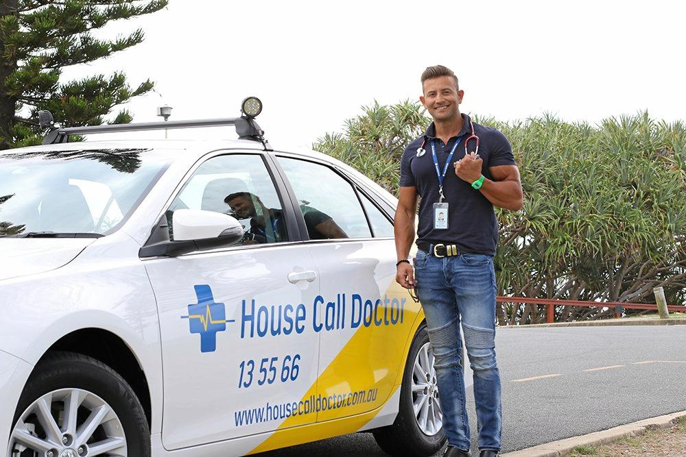 ON CALL: Dr Tony Tanious is a GP with House Call Doctor.