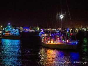 Christmas boat parade drama