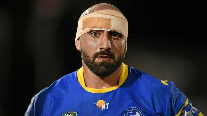 Tim Mannah of the Parramatta Eels.