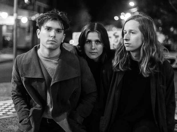 FRESH: Tim Fitz, Hannah Joy and Harry Day are an indie pop rock trio from Sydney known as The Middle Kids.