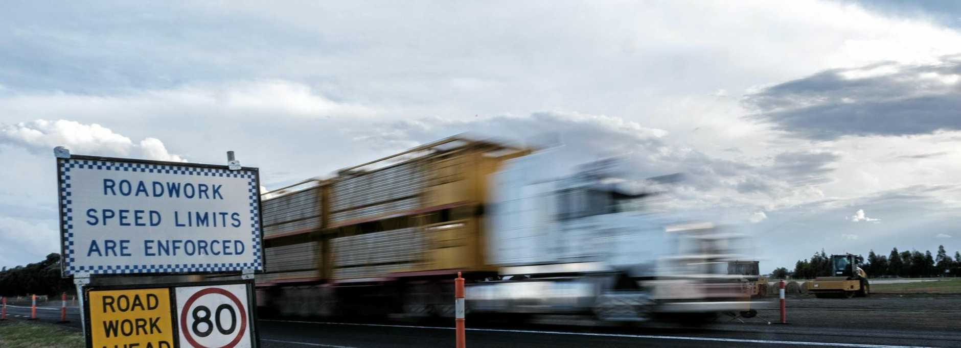 CHRISTMAS IS COMING: Warrego Highway upgrades along the eastern approach to Chinchilla.