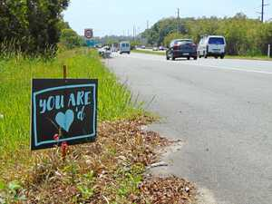 What those 'You are loved signs' are all about