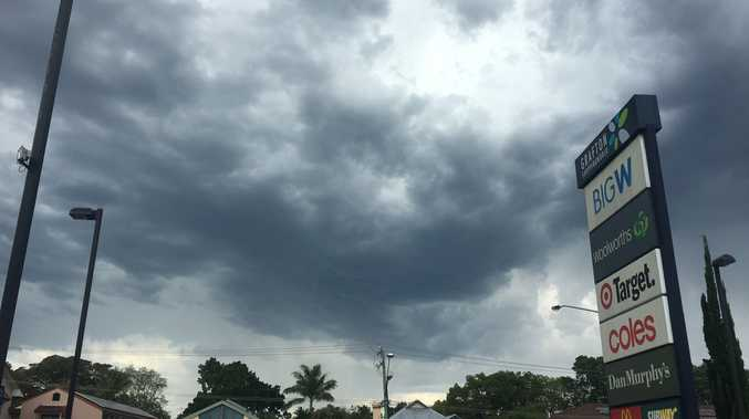 The BOM has issued a severe thunderstorm warning for the Clarence Valley