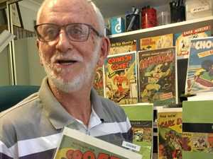 Comic collector's love of Aussie red-headed rogue
