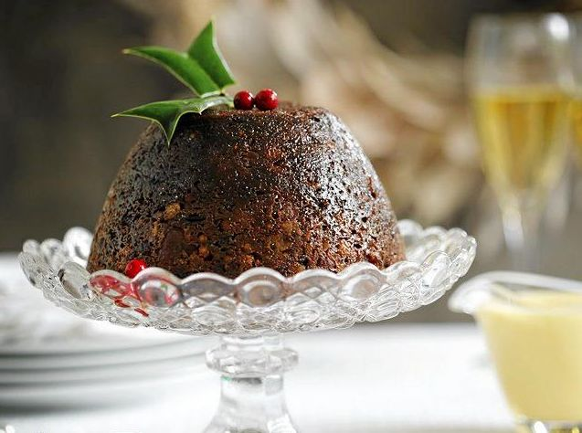 It's Christmas, time to indulge in a beautiful plum pudding and brandy caramel sauce.
