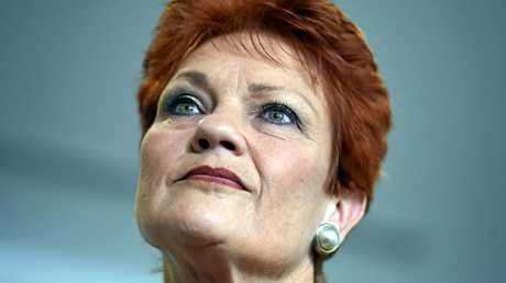 Pauline Hanson has been labelled a