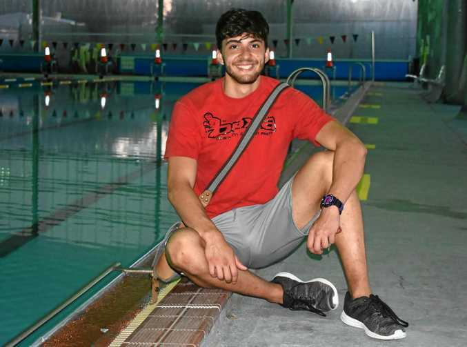 NEW DIRECTION: Benjamin Silva never expected to pursue a career in the pool.