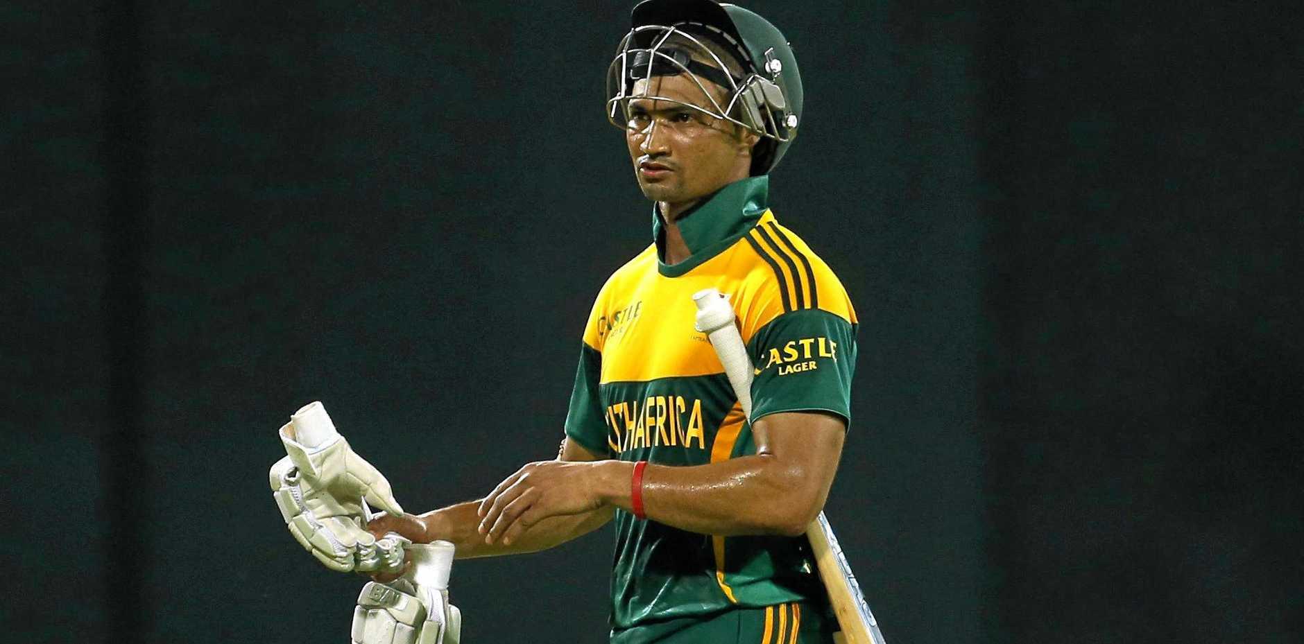 South African batsman Alviro Petersen.