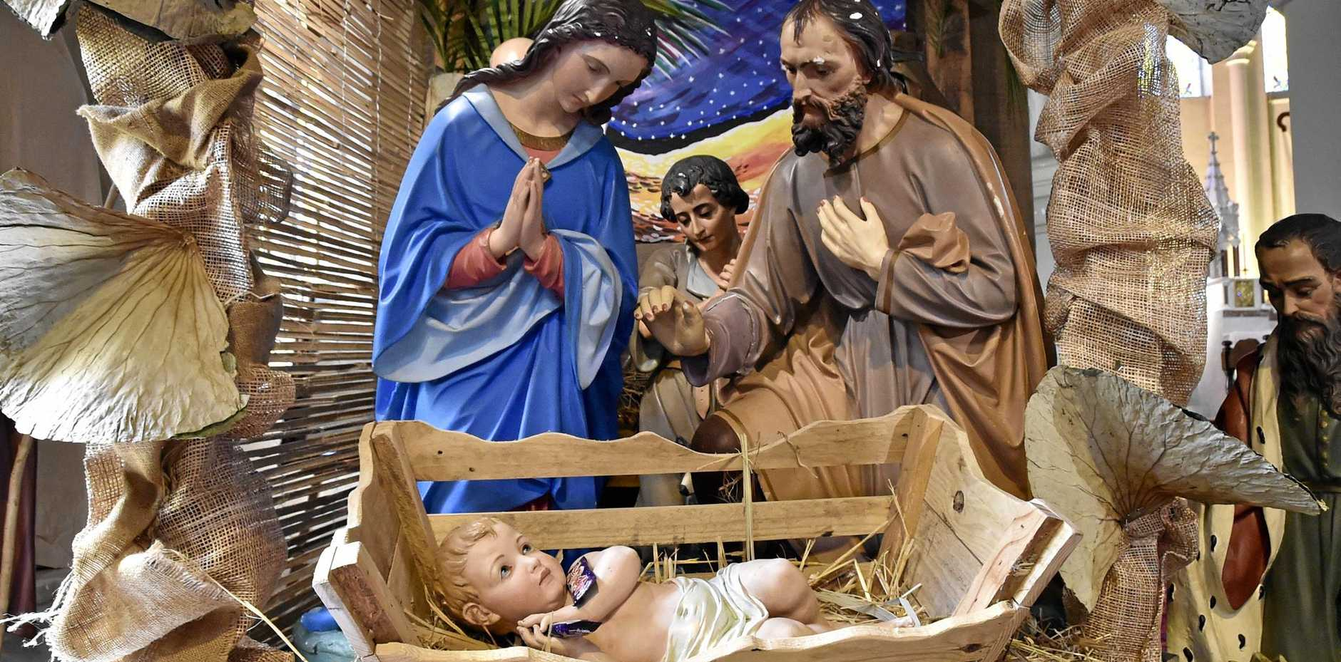 Jesus is the reason for the season says the Salvation Army's Don Cook.