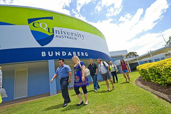 TOP SPOT: CQUniversity's Bundaberg campus is a great place to learn.