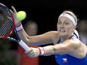 Kvitova out until at least mid-year after knife attack
